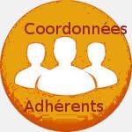 Contact adhérents